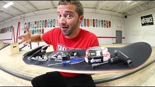 Everything You Need To Build A Skateboard.