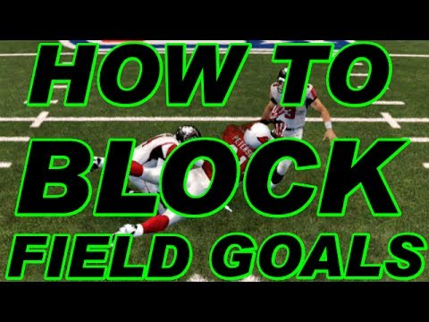 Madden NFL 25 Ultimate Team - How to Block Field Goals Tutorial