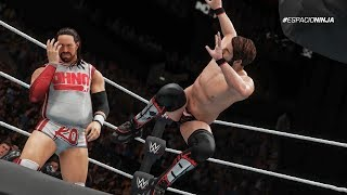 WWE 2K18 All NXT Signature and Finishers (PS4 & XBOX ONE)