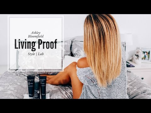 Blowout Routine using Living Proof Products | Ashley Bloomfield