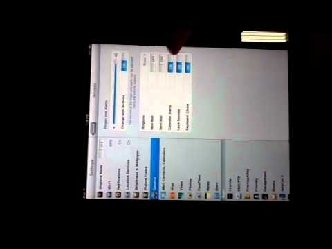 Turning Off Sounds on iPad 2