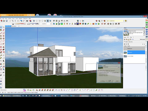 SketchUp: 4 ways to create backgrounds