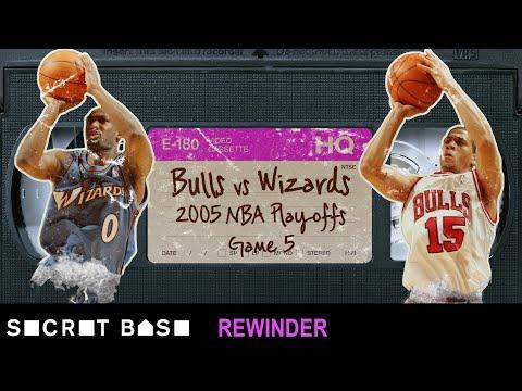Gilbert Arenas' critical shot in the 2005 NBA Playoffs needs a deep rewind | Wizards vs. Bulls