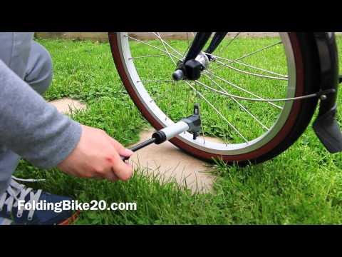 EyezOff GP96 Alloy Mini Bike Pump Overview