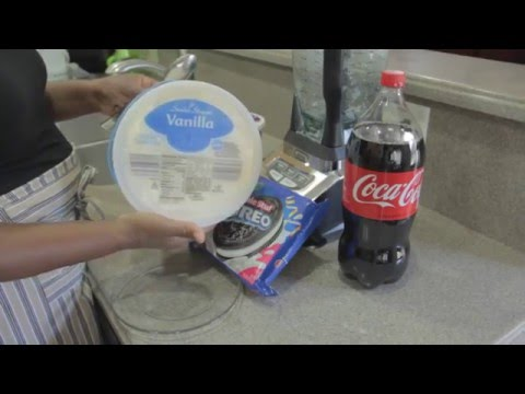 How to Create A Delicious Oreo Milkshake or  Coca-Cola Float