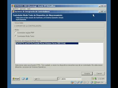 como integrar un driver en windows 2003 usando  nlite