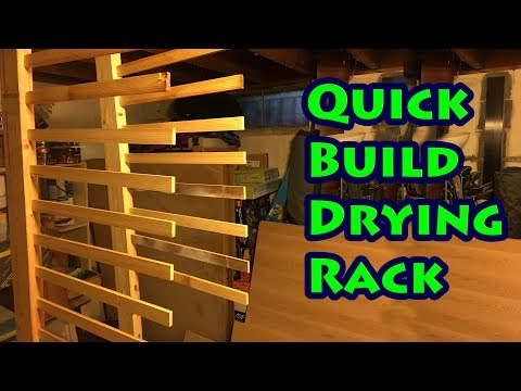 Quick Build Drying Rack using a Festool Domino, without the Dominos!