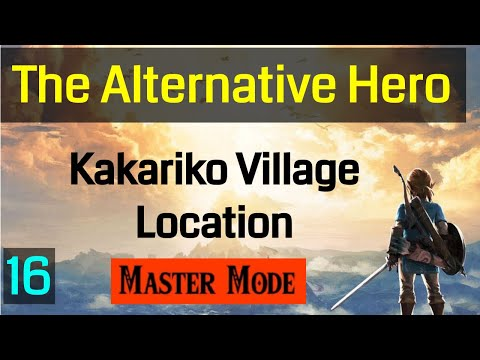 Master Mode Breath of the Wild Treasure Boating and Discovering Kakariko Village 016