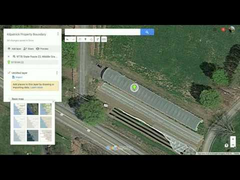 Using Google Maps to show your farm Map