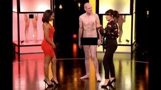 Naked Attraction's Anna Richardson grabbed by nude man in shock move
