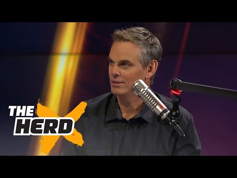 Colin explains why the NFL is 7 times more popular than college football | THE HERD