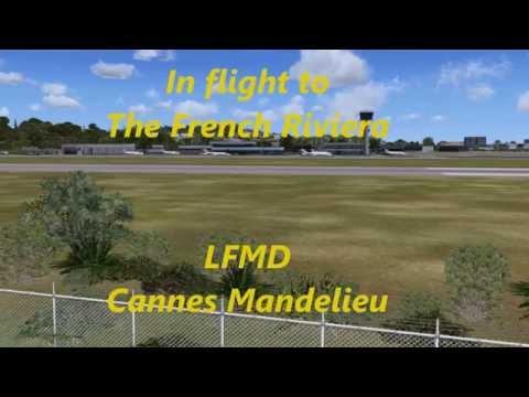 Cannes Mandelieu LFMD Flight Simulator