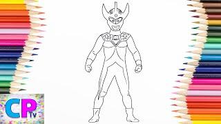 Ultraman Coloring SuperHero Ultraman Zero Leo Spiderman