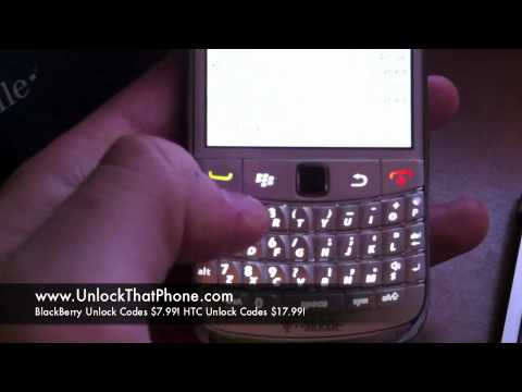 How to Unlock Blackberry Bold 9780 with Code + Full Instructions!! at&t tmobile o2 rogers bell fido