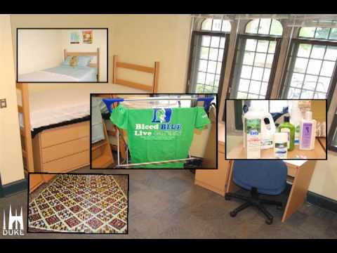 Sustainable Decorating in 2 Minutes: Duke's first green dorm room