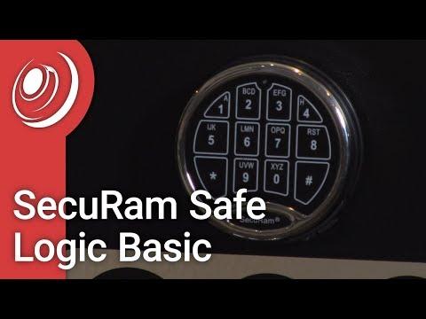 SecuRam Safe Logic Basic - Opening & Changing Your Combo