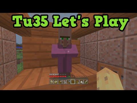 Minecraft TU35 Let's Play 26 - Villager Breeding