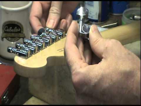 Billy's Fender Starcaster Upgrade-Machine Heads