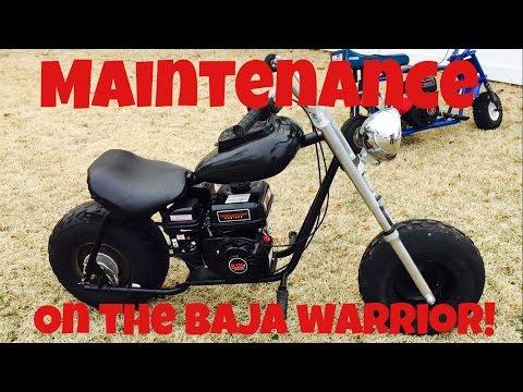 MAINTENANCE ON THE BAJA!