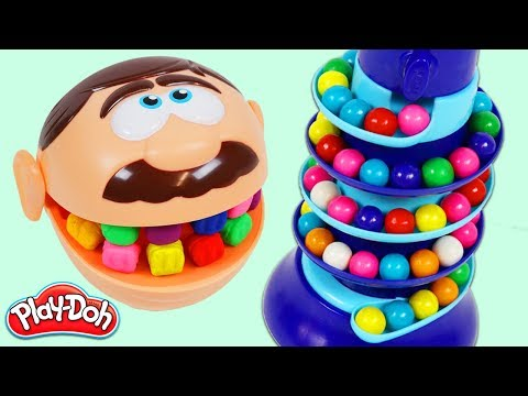 Xxx Mp4 Feeding Mr Play Doh Head Rainbow Gumballs From Dubble Bubble Candy Dispenser 3gp Sex