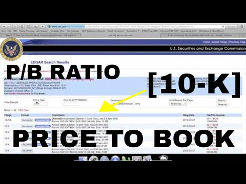 How to Invest pt. 2: In-depth Analysis with P/B Ratio