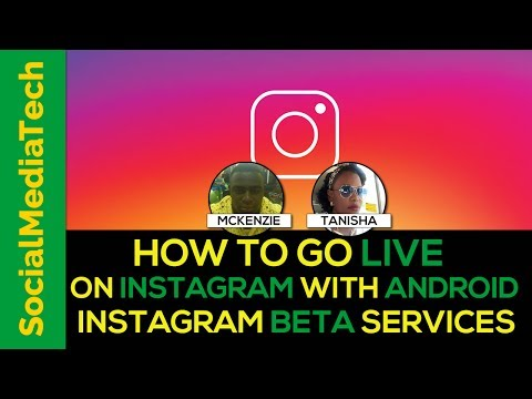 How To Go Live On Instagram With Android Instagram Beta services Update 2017