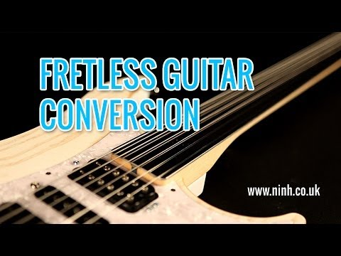 How to do a Fretless Guitar Conversion (Cheap Electric or Bass)