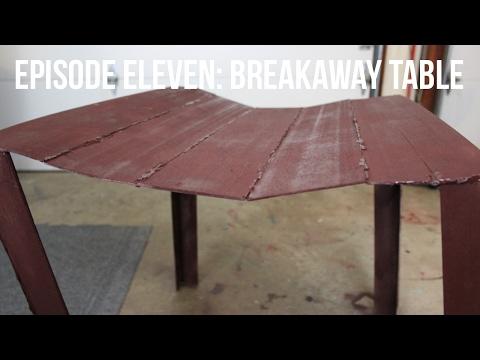 Backyard Filmmaking-Episode Eleven: Breakaway Table