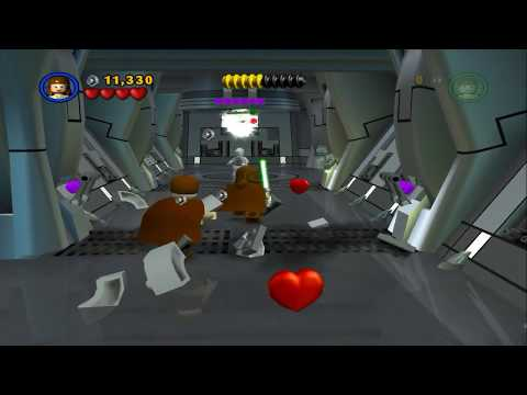 Lego Star Wars - HD PCSX2 Gameplay - PS2
