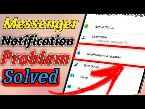 How To Fix Messenger Notification & Sounds Problem Slove