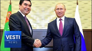 Putin Forges Strategic Partnership with Turkmenistan