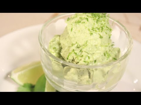 Vegan + Dairy-Free Coconut Avocado Ice Cream