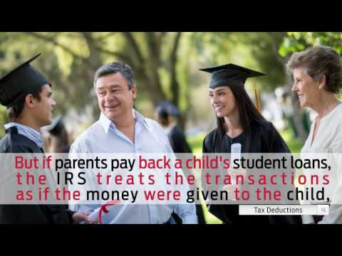 Tax Tip 2016: Deduct Student-Loan Interest Paid by Your Parents