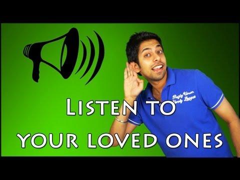 Improve your Listening Skills : Inspirational videos on Relationships (Hindi)