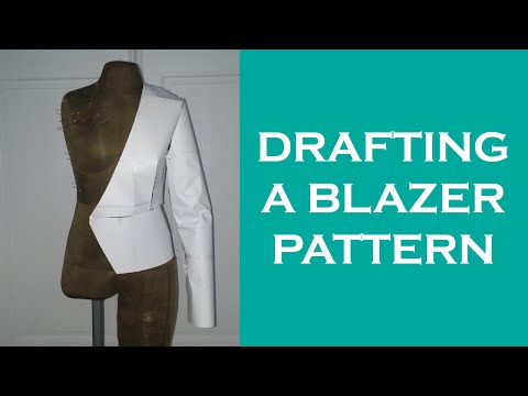 Design a Collarless Blazer /Jacket