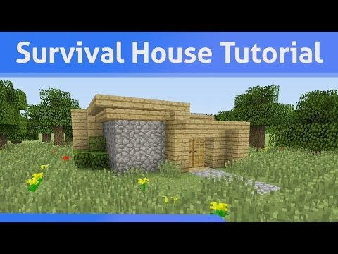 Small Survival House Tutorial Minecraft Xbox 360/PS3/Xbox One/PS4/PE/PC/Wii U