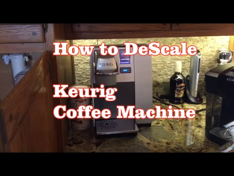 How To Descale Keurig Coffee Machine