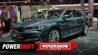 New Skoda Superb iV : Updated flagship goes hybrid : IAA 2019 : PowerDrift