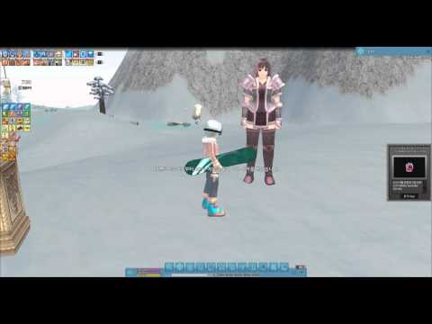 [KR Mabinogi] Wintersday 2014 Event and Winter Queen Crystal Gach