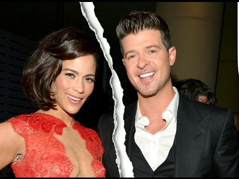 Is Paula Patton being a Bitter, Vindictive Ex to Robin Thicke?   Child Custody Battle