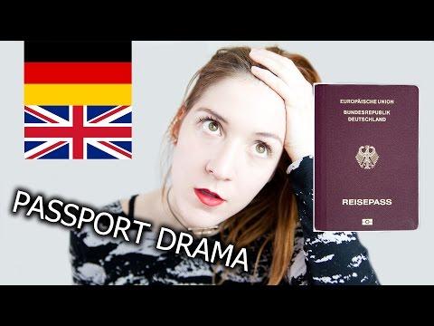 LondonTroubles: Renewing my GERMAN PASSPORT in LONDON! ... or not?... #germangirlinlondon | Jen Dre