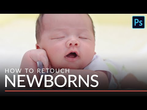 How to Retouch Newborn Baby Skin in Photoshop