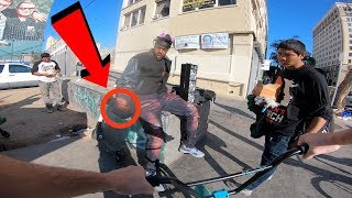 GUY TRIES SELLING ME THIS ILLEGALLY IN BROAD DAYLIGHT.. (BMX IN COMPTON)