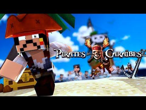 Pirates Des Caraïbes : La Violence Du Kraken [Court métrage Minecraft]