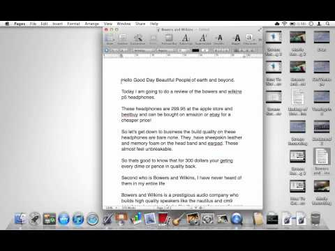 IWork Pages Tutorial: Converting Pages Documents To Word