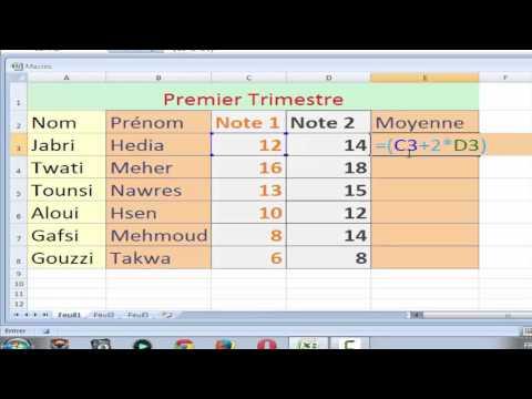 Microsoft Excel 2007 : La Macro