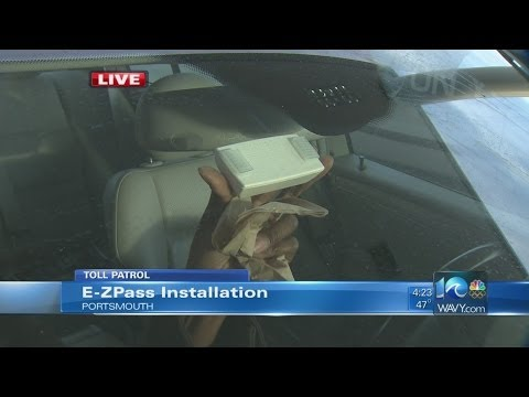 Anita Blanton on E-ZPass installation