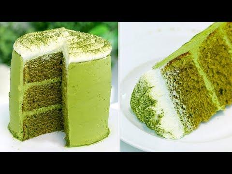 How to make the PERFECT Matcha Green Tea Cake | RECIPE