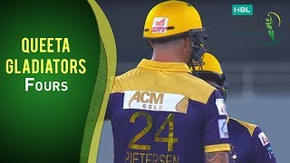 HBL PSL Final - Islamabad United vs Quetta Gladiators - Quetta Fours