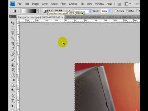 Photoshop CS4 - Tutorials - Blending Two Images Together